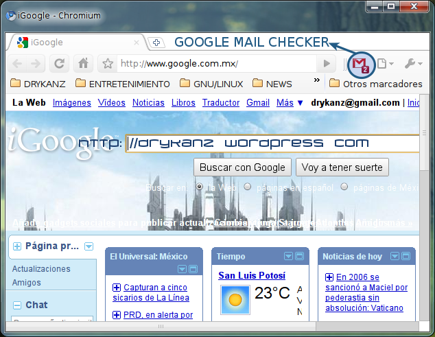 how to use gmail with thunderbird