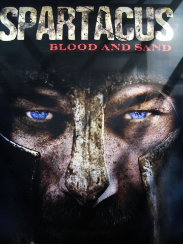 Serie spartacus blood and sand en Español.